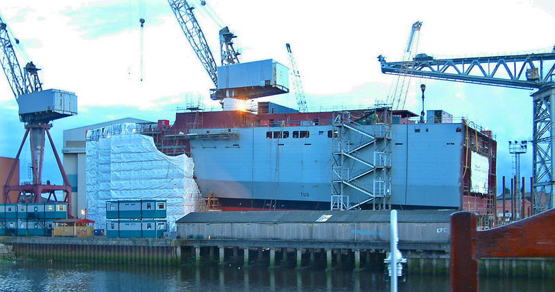 Bay Class RFA Ships - Clyde Shipyard Views